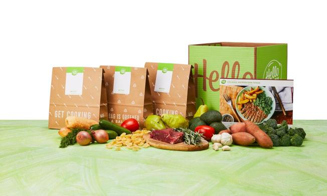 這類服務將食材包送到家門,主人在家做飯可省去大量的繁瑣工作。(Groupon)