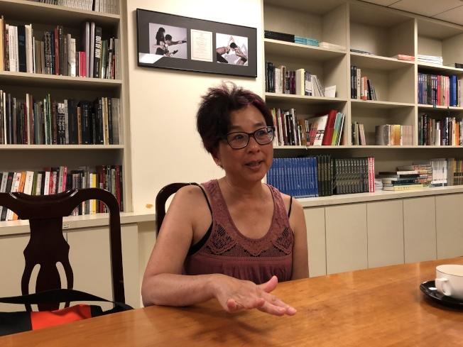 導演蘇杏娟藉由紀錄片「愛之船:台灣」,討論海外華人對台灣與中國之間的族群認同。(紐文中心提供)