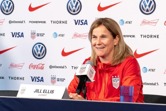 埃利斯是美國女足最成功的教練。(路透)