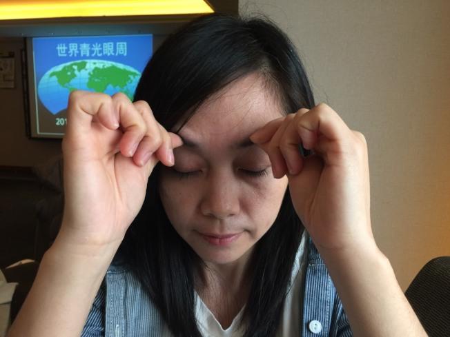 新竹一名蔡姓婦人1年多前出現右眼腫脹、眼壓高與不斷流淚等症狀,被診斷為罕見的眼眶骨性血管瘤。(示意圖,本報資料照片)