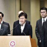 香港大罷工 陸空交通癱瘓 林鄭批暴力毀法治 但沒回應反送中訴求
