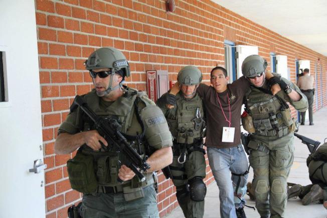 洛縣警局表示,兩起濫射案發生後,警方將與各機構緊密合作,防止更多槍枝暴力事件發生。(洛縣警局提供)
