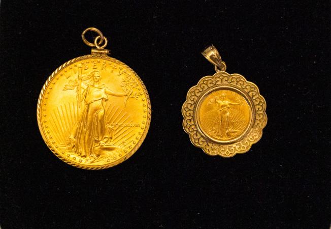 美國老鷹金幣。