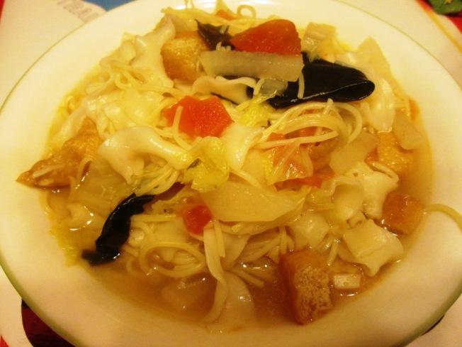川香椒麻蘿蔔番茄湯麵
