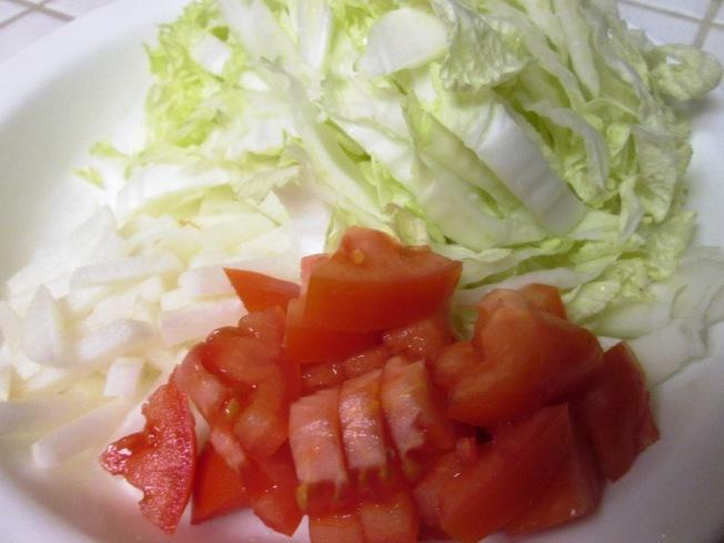 川香椒麻蘿蔔番茄湯麵材料