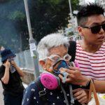 七區集會蔓延14區…港警:兩月放1000催淚彈 拘420人