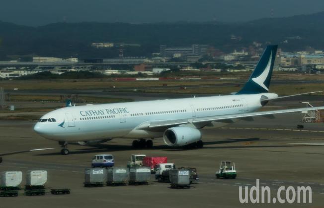 香港罷工並未影響到飛洛杉磯的航班。(本報系資料照)