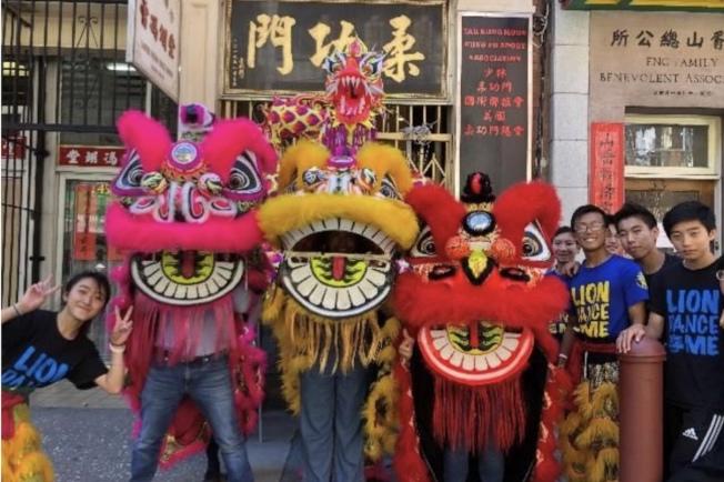 為期八個周日的「周日遊樂街」將有舞獅表演。(李德志提供)