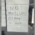 塗鴉反穆斯林 1白人女子面臨起訴