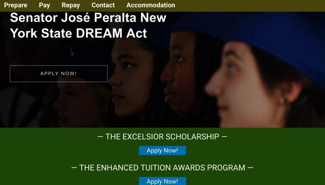 「夢想生」開放線上申請獎學金,兩項獎助學金計畫15日申請截止。(取自高等教育服務公司網站)