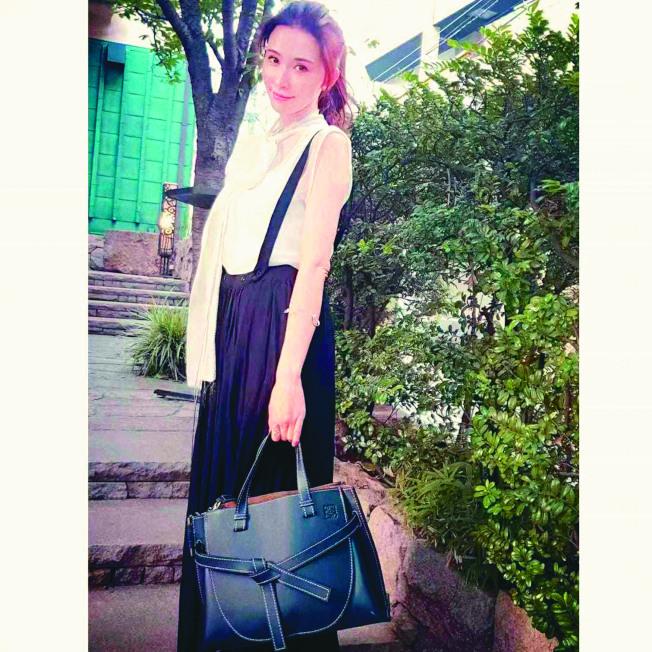 林志玲閃婚近來一有空檔會與老公Akira合體。(取材自臉書)