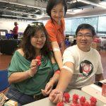 美京華人活動中心 愛心捐血
