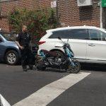 8大道查非法電單車 華裔外賣郎被捕 車沒收