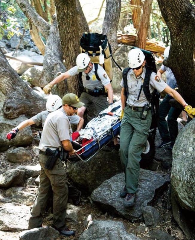 一名遊客在優勝美地國家公園喪生。(公園官方供圖)