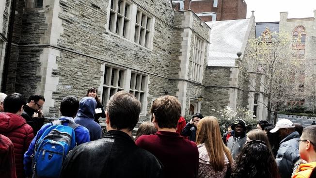 參觀校園是對該大學感興趣的一種表達方式。(Getty Images)