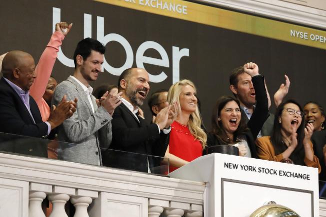 Uber CEO克斯洛沙希(Dara Khosrowshahi)。(美聯社)