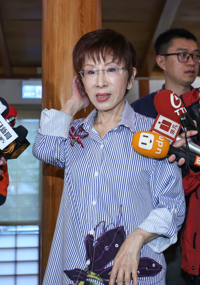 國民黨前主席洪秀柱已遷戶籍到台南,準備參選立委挑戰民進黨鐵票區。(記者陳柏亨/攝影)