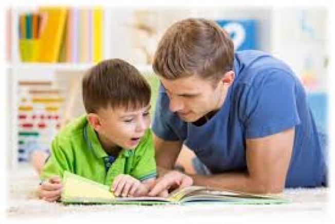 孩子的生活中需要有「閱讀模範」。( 取自Prep Academy Tutors推特)
