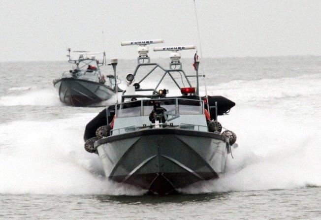 陸軍海龍部隊現役的K85成功艇與高性能海龍快艇。(本報系檔案照)