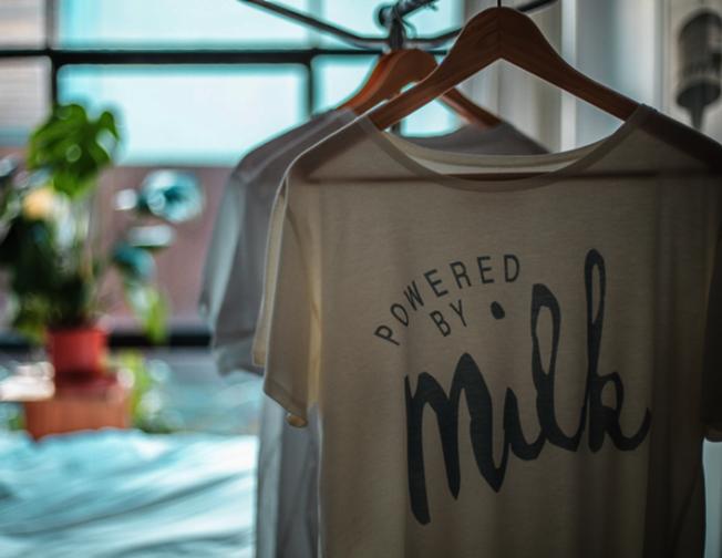 牛奶T恤。(Mi Terro)