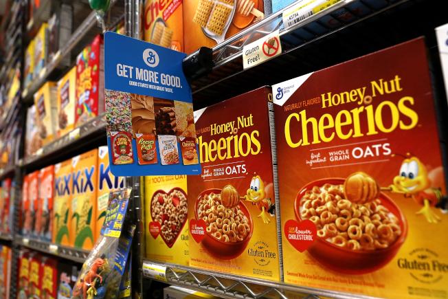 96%的購物者每次雜貨店採購東西時,都會購買早餐穀物。(Getty Images)