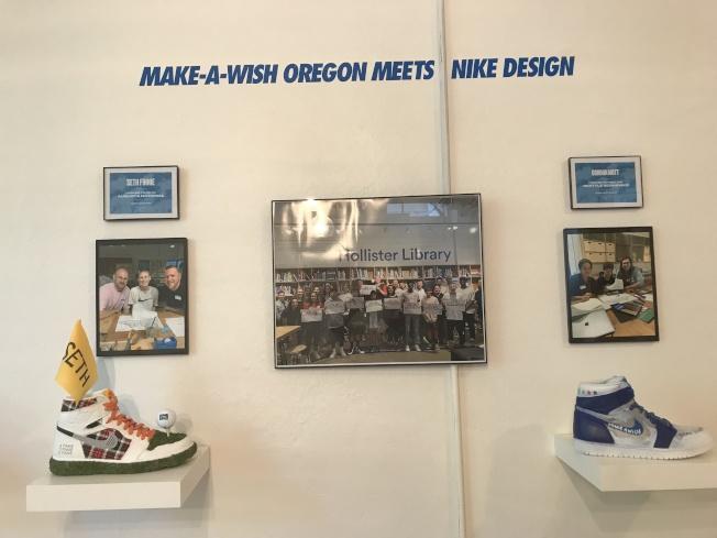 設計每款鞋的癌童與設計師合影。(圖片皆作者提供)