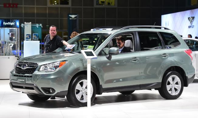 部分速霸陸Forester休旅車前座乘客安全氣囊感應器可能有瑕疵。(Getty Images)