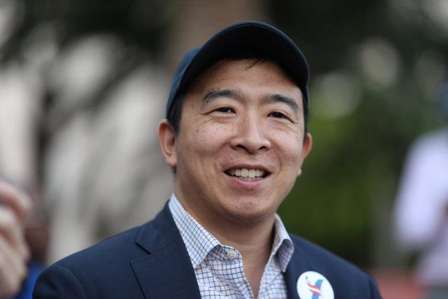 華裔美國民主黨總統參選人楊安澤。路透