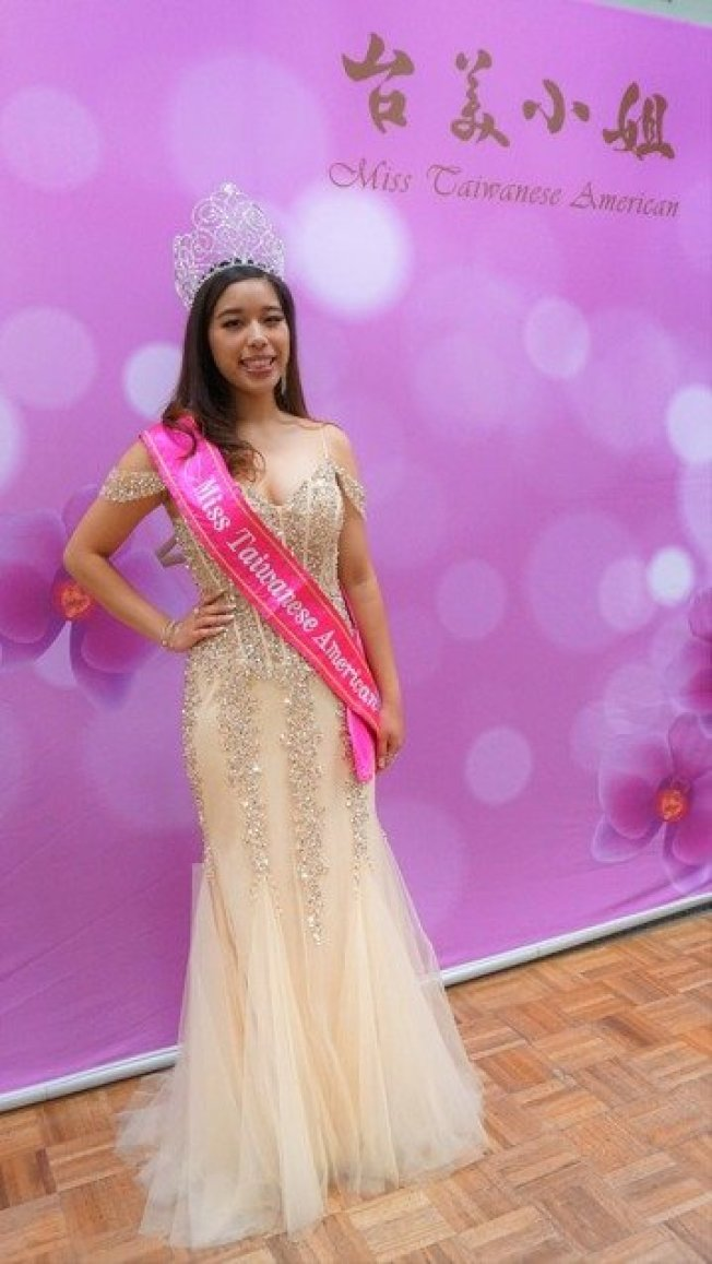 就讀南加州大學(USC)二年級的林以心(圖)獲選2019年台美小姐,她說在培訓過程中讓她找到自信,並且認識到台灣人為了在美國社會發聲而做的努力,感受到台灣人最美的一面。圖/中央社