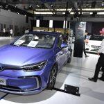 中國新能源車銷售 三強出列