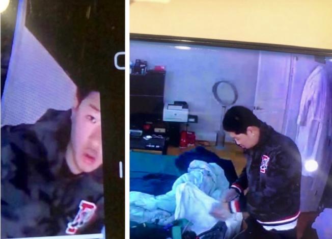 涉嫌入室盗窃的其中一名男子。(警方提供)
