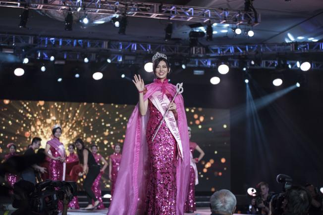 美國華裔小姐競選總決賽在康州金神大賭場舉行。(高傑文/攝影)
