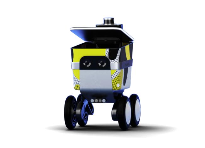點餐外賣平台Postmates的最新機器人「Serve」。(取自Postmates官網)