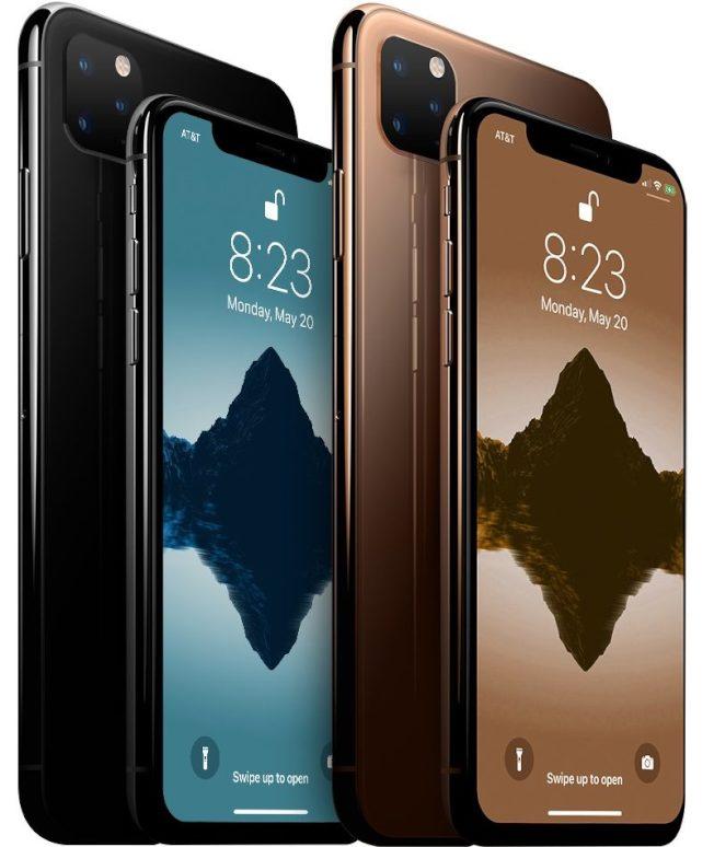 科技網站爆料,新的三款iPhone可能會依照不同等級命名,從高階依序為「iPhone 11 Pro」、「iPhone 11」、「iPhone 11R」。 (取材自macrumors.com)