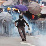 中國官媒批港示威者「公然宣戰」環時總編 :可擊斃
