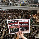 港警無差別暴力引發機場靜坐  警方反問證據何在