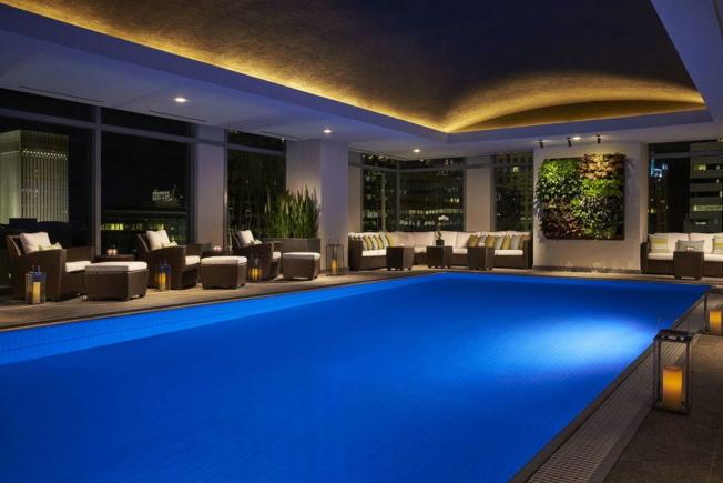 第一名夏洛蒂(Charlotte)的The Ritz-Carlton酒店裡的The Ritz-Carlton Spa。(The Ritz-Carlton, Charlotte提供)
