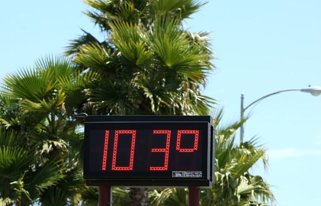 灣區熱浪來襲,要到周末才會降溫。(Getty Images)