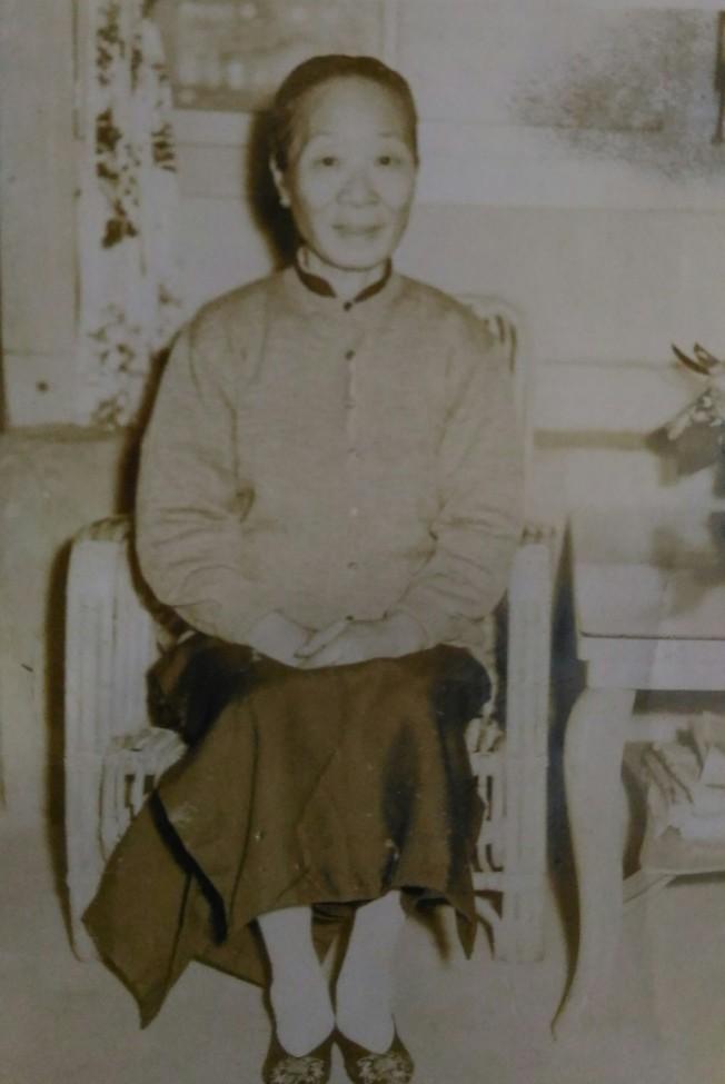 作者的外婆舊照。