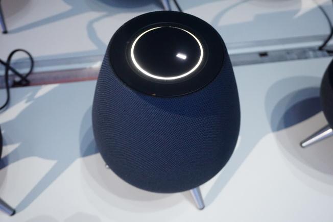 Galaxy Home發表會現場實品。(圖:台灣三星提供)
