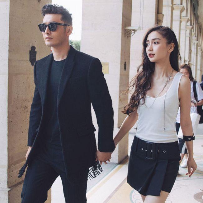 黃曉明(左)和baby被點名將是下一對公布離婚的明星夫妻。(取材自新華網)