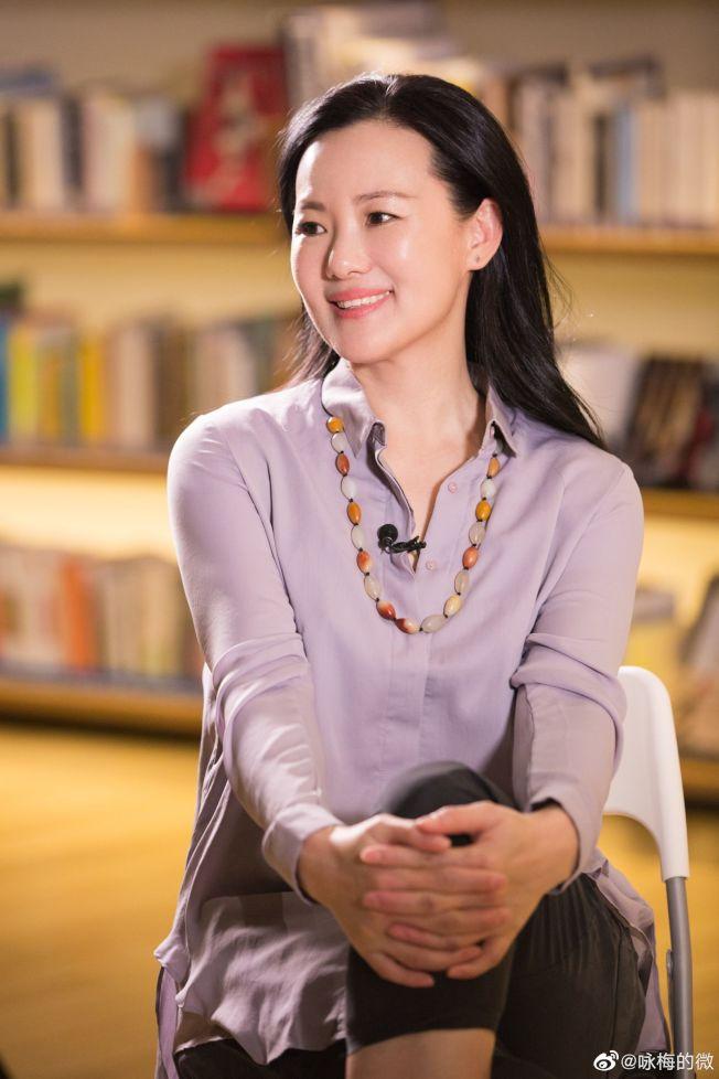 49歲的詠梅是一個低調又有實力的中年演員。(取材自微博)