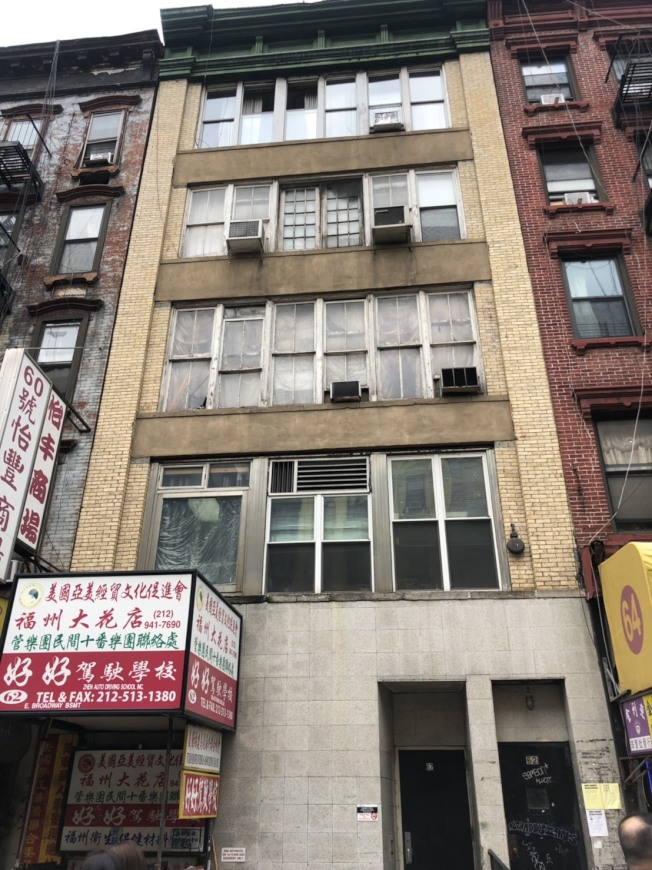 華埠東百老匯一家診所發生持械傷人案。(市警提供)
