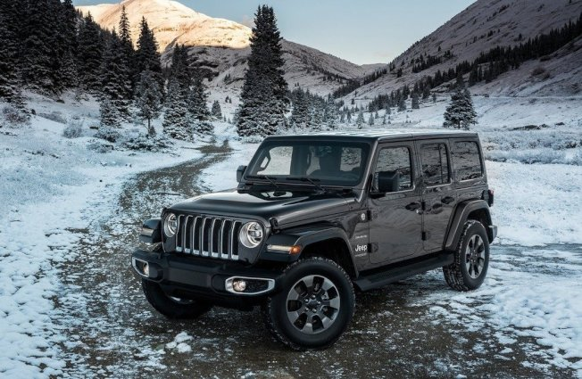 Jeep Wrangler Unlimited。 摘自Jeep