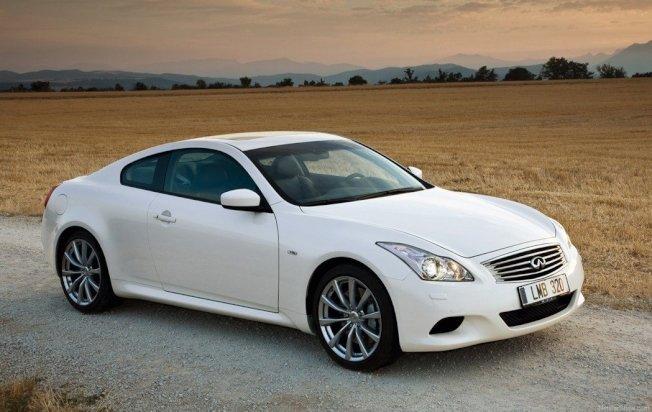 Infiniti G37 Coupe。 摘自Infiniti