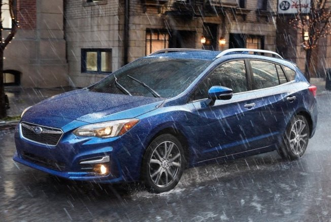 Subaru Impreza。 摘自Subaru
