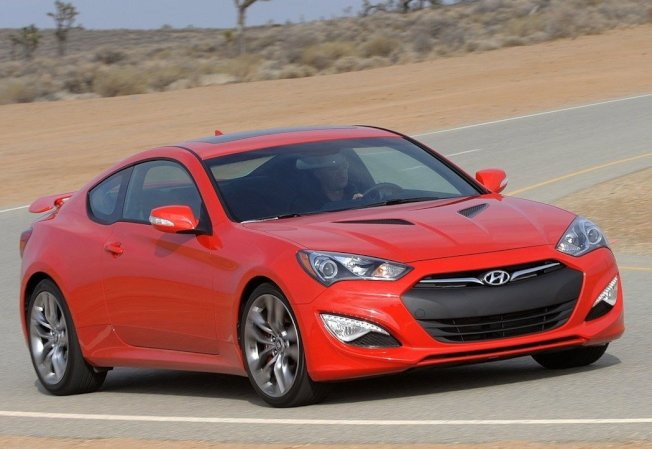 Hyundai Genesis Coupe。 摘自Hyundai