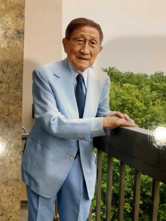 巫寧坤在華府病逝,享年99歲。(巫一毛提供)