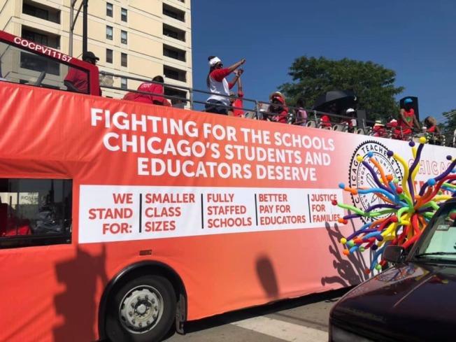 芝加哥教師工會醞釀再次罷工。(臉書官網)