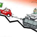 漫畫/貿易戰拖累
